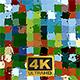 Colorful Square In Von Gogh Style - VideoHive Item for Sale