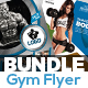 Gym & Fitness Flyer Bundle