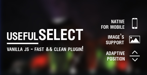 CodeCanyon usefulSELECT clean & powerful JS plugin for Customize select Tag 21073128