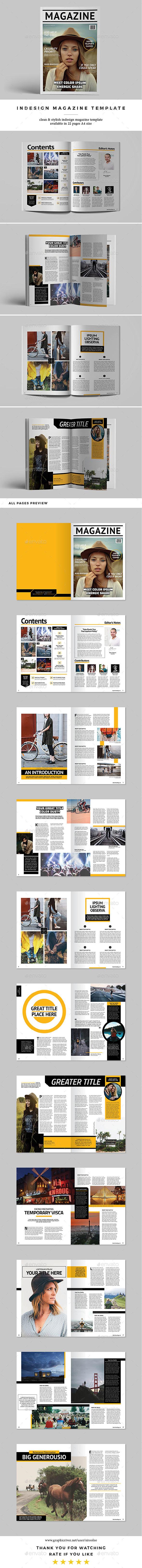 InDesign Magazine Template Vol.2 - Magazines Print Templates
