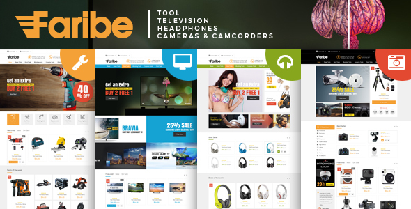 Faribe - Multi Purpose Opencart 3 Theme - Technology OpenCart