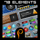 Mega Web 2.0 Elements v2 - GraphicRiver Item for Sale