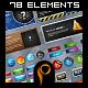 Mega Web 2.0 Elements v2 - GraphicRiver Item for Sale