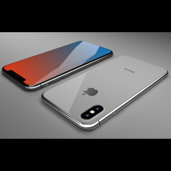 3DOcean iPhone X Blender 3D 21105937