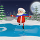 Santa on the Skates - VideoHive Item for Sale