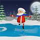 Santa on the Skates - VideoHive Item for Sale