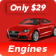 Engines ­- Automotive, Car Dealer, Vehicle, Dealership, Classifieds WordPress Theme