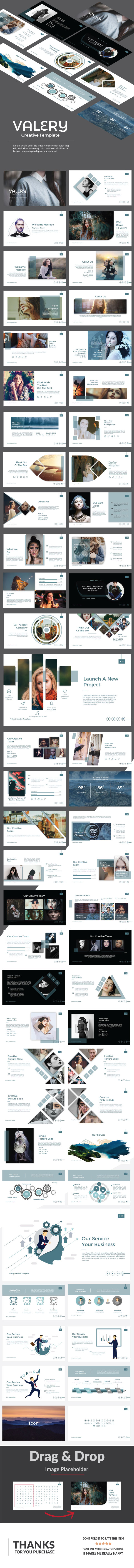 GraphicRiver Valery Multipurpose Powerpoint 21106324