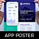 Mobile App Poster Template - GraphicRiver Item for Sale