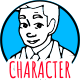Download Asian Man - Character Doodle Whiteboard Animation from VideHive