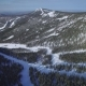 Drone Shot Snow Mountain in a Ski Resort - VideoHive Item for Sale