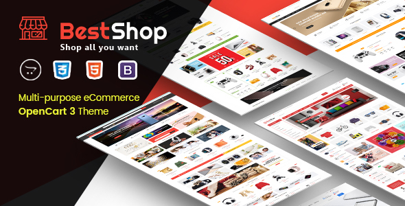 ThemeForest BestShop Top MultiPurpose OpenCart 3 Theme With Mobile Layouts 21106950