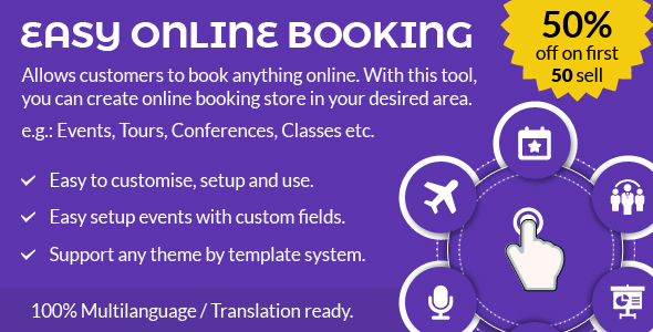 CodeCanyon Easy online booking 21027516
