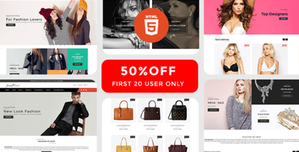 Image of Journey Casual - Multipurpose Fashion HTML Template