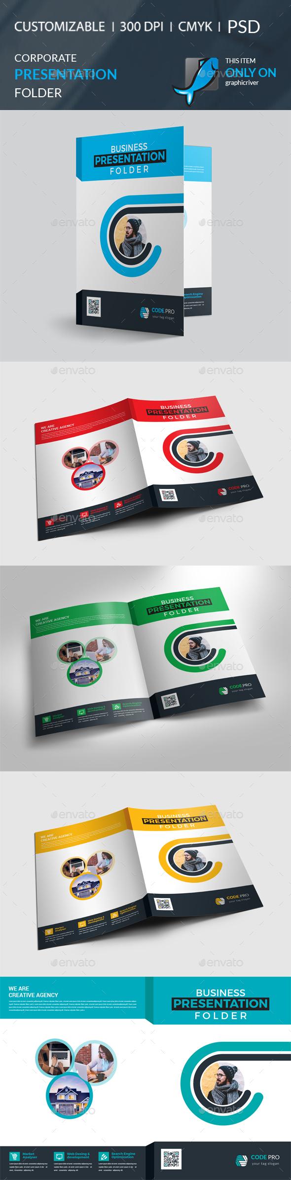 GraphicRiver Presentation Folder 21107143