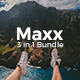3 in 1 Maxx Bundle Creative Powerpoint Template - GraphicRiver Item for Sale