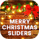 Merry Christmas Sliders - 12PSD