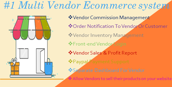 CodeCanyon MiMarket Multi Vendor Ecommerce Marketplace The Complete Multi Vendor CMS 21057553