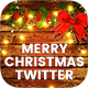 Merry Christmas Twitter Header - 12PSD