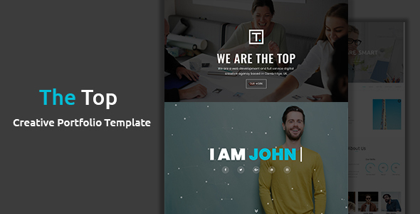 Image of The Top - Creative Portfolio Template