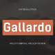 Gallardo - Multipurpose Presentation Template