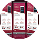 Mobile App Promotion Roll-up Banner - GraphicRiver Item for Sale