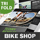 Bicycle Shop Trifold Brochure
