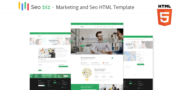 Seobiz – Marketing & Seo Business Template - Marketing Corporate