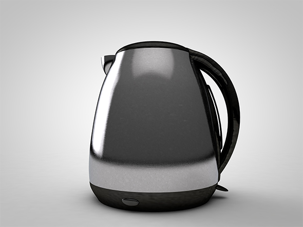 Kettle - 3DOcean Item for Sale