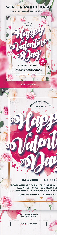 GraphicRiver Happy Valentine Day 21108130