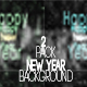 2 Pack Happy New Year 2018-Neon Light - VideoHive Item for Sale