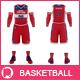 Men's Full Basketball Kit  V-Neck Jersey Mock-up - GraphicRiver Item for Sale