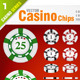 36 Casino Chips - GraphicRiver Item for Sale