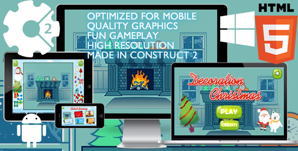 Decoration Christmas Game - CodeCanyon Item for Sale