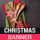 Christmas Cooking Table Banner - GraphicRiver Item for Sale