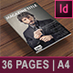 36 Page Men's Lifestyle/Fashion Magazine A4 - GraphicRiver Item for Sale