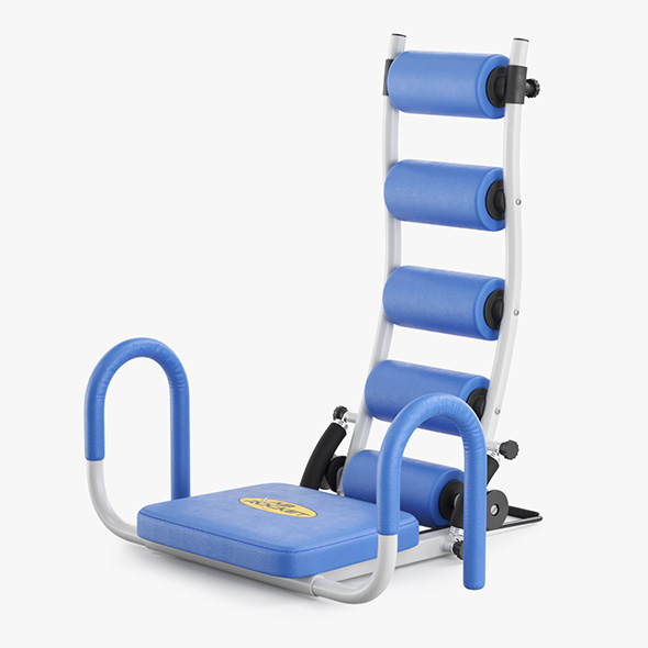 Gym Trainer AB Rocket - 3DOcean Item for Sale