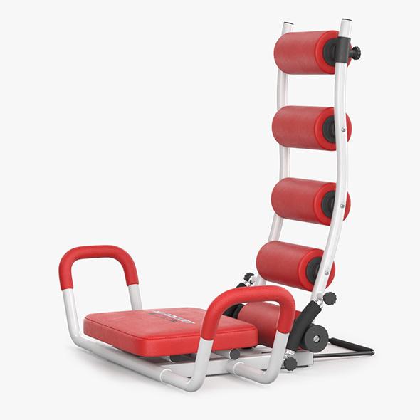 Gym Trainer AB Rocket Twister - 3DOcean Item for Sale