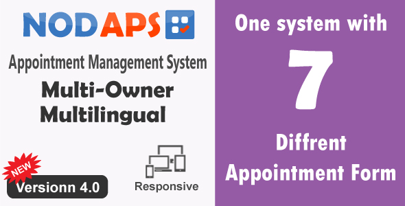 Appointment Management System - NodAPS - CodeCanyon Item for Sale