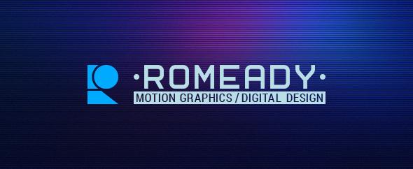 Romeady homepage