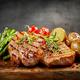 Grilled beef steaks - PhotoDune Item for Sale