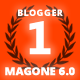MagOne - Responsive News & Magazine Blogger Template
