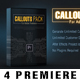 Callout Line Pack For Premiere - VideoHive Item for Sale