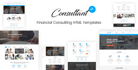 ThemeForest Consolution Financial Consulting HTML Templates 20977599