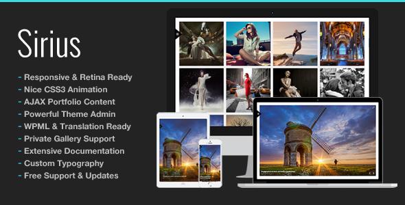 Photography Portfolio | Sirius for Photography - Photography Creative