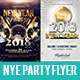 NYE Party Flyer Bundle - GraphicRiver Item for Sale