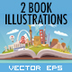 2 Vector Travel Book Illustrations