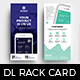 Mobile App DL Rack Card Template - GraphicRiver Item for Sale