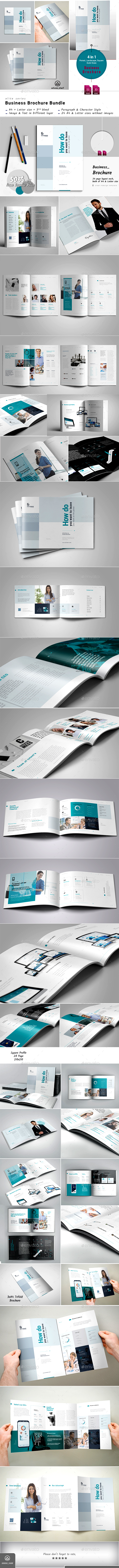 GraphicRiver Brochure Bundle 21109303