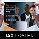 Tax Service Poster Template